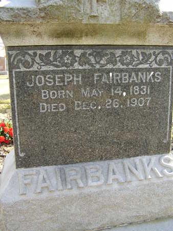 FAIRBANKS, JOSEPH WILLIAM - Des Moines County, Iowa | JOSEPH WILLIAM FAIRBANKS