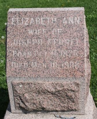 DODDS FERREL, ELIZABETH ANN - Des Moines County, Iowa | ELIZABETH ANN DODDS FERREL