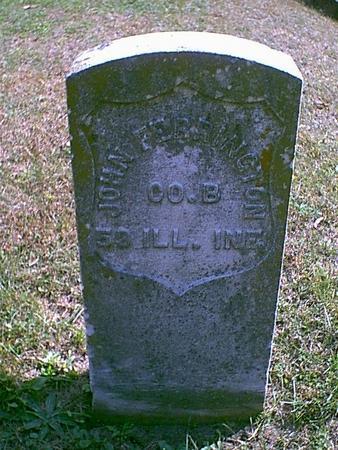 FERRINGTON, JOHN C. - Des Moines County, Iowa   JOHN C. FERRINGTON
