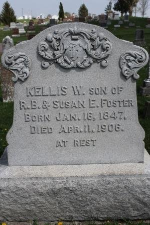 FOSTER, KELLIS W. - Des Moines County, Iowa   KELLIS W. FOSTER