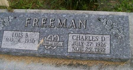FREEMAN, CHARLES DON - Des Moines County, Iowa   CHARLES DON FREEMAN