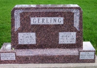 GERLING, MEDA M. - Des Moines County, Iowa | MEDA M. GERLING