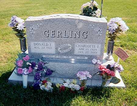 GERLING, CHARLOTTE - Des Moines County, Iowa | CHARLOTTE GERLING