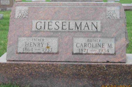 GIESELMAN, CAROLINE M. - Des Moines County, Iowa | CAROLINE M. GIESELMAN