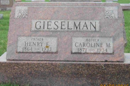 GIESELMAN, HENRY E. - Des Moines County, Iowa   HENRY E. GIESELMAN