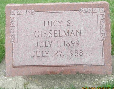 GIESELMAN, LUCY S. - Des Moines County, Iowa | LUCY S. GIESELMAN