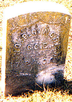 GINGRICH, JOHN PETER - Des Moines County, Iowa   JOHN PETER GINGRICH