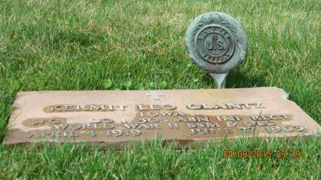 GLANTZ, KERMIT LEO - Des Moines County, Iowa | KERMIT LEO GLANTZ
