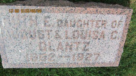 GLANTZ, RUTH ETHEL MARIE. - Des Moines County, Iowa   RUTH ETHEL MARIE. GLANTZ