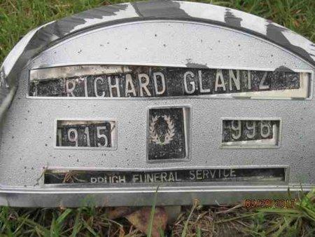 GLANTZ, RICHARD B. - Des Moines County, Iowa   RICHARD B. GLANTZ