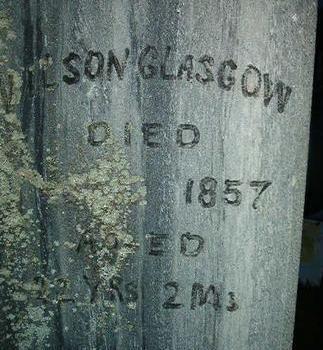 GLASGOW, WILSON - Des Moines County, Iowa | WILSON GLASGOW