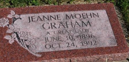 GRAHAM, JEANNE - Des Moines County, Iowa | JEANNE GRAHAM