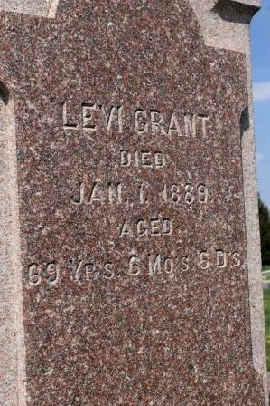 GRANT, LEVI - Des Moines County, Iowa   LEVI GRANT