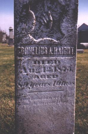 HAIGHT, CORNELIUS A. - Des Moines County, Iowa | CORNELIUS A. HAIGHT