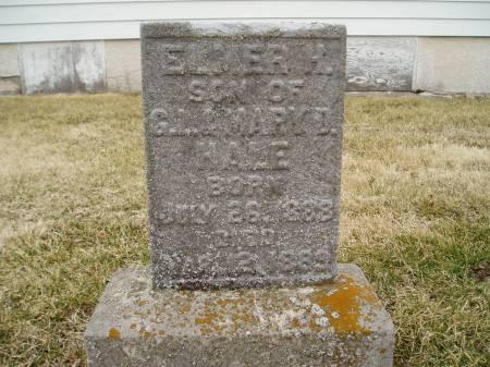 HALE, ELMER H - Des Moines County, Iowa | ELMER H HALE