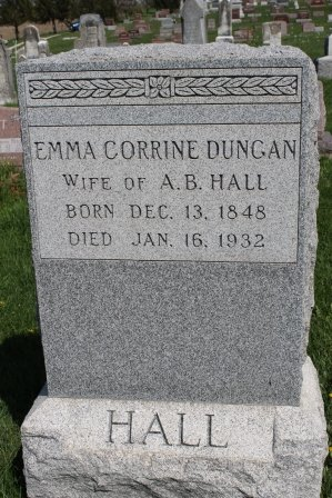 DUNGAN HALL, EMMA CORRINE - Des Moines County, Iowa | EMMA CORRINE DUNGAN HALL