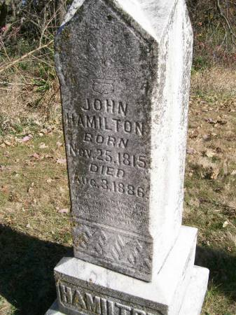 HAMILTON, JOHN - Des Moines County, Iowa | JOHN HAMILTON