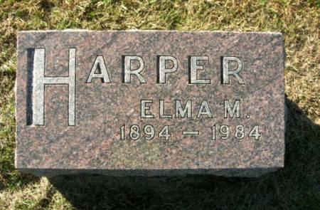 HARPER, ELMA M. - Des Moines County, Iowa | ELMA M. HARPER