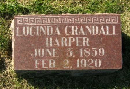 GRANDALL HARPER, LUCINDA - Des Moines County, Iowa | LUCINDA GRANDALL HARPER