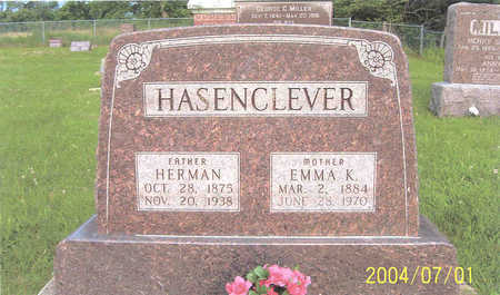 HASENCLEVER, EMMA - Des Moines County, Iowa | EMMA HASENCLEVER