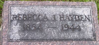HAYDEN, REBECCA JANE - Des Moines County, Iowa | REBECCA JANE HAYDEN