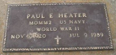 HEATER, PAUL E. - Des Moines County, Iowa | PAUL E. HEATER