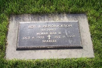 HENDRICKSON, ROY B.. - Des Moines County, Iowa   ROY B.. HENDRICKSON