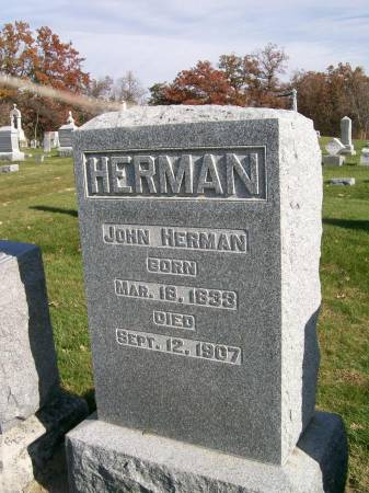 HERMAN, JOHN - Des Moines County, Iowa | JOHN HERMAN