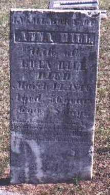 BARNEY HILL, ANNA - Des Moines County, Iowa | ANNA BARNEY HILL