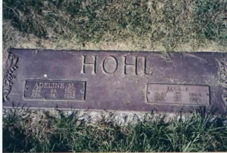 HOHL, ADELINE AND ALVA - Des Moines County, Iowa | ADELINE AND ALVA HOHL