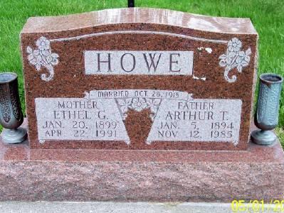 HOWE, ETHEL G. - Des Moines County, Iowa | ETHEL G. HOWE