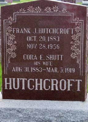 HUTCHCROFT, FRANK J. - Des Moines County, Iowa | FRANK J. HUTCHCROFT