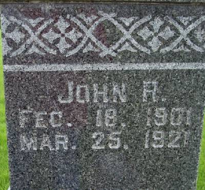 HUTCHCROFT, JOHN RICHARD - Des Moines County, Iowa | JOHN RICHARD HUTCHCROFT