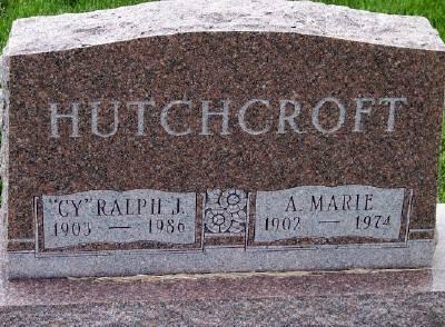 OBERMAN HUTCHCROFT, ALVINA MARIE - Des Moines County, Iowa | ALVINA MARIE OBERMAN HUTCHCROFT