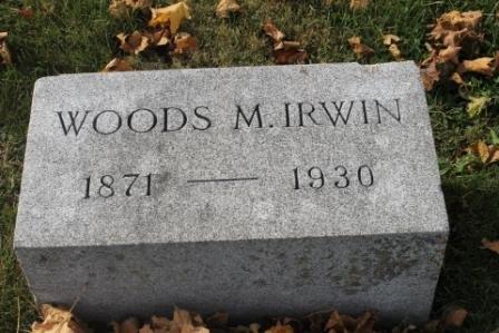 IRWIN, WOODS M. - Des Moines County, Iowa | WOODS M. IRWIN
