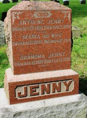 JENNY, GRANDMA - Des Moines County, Iowa | GRANDMA JENNY