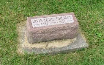 JOHNSON, IRVIN LOUIS - Des Moines County, Iowa   IRVIN LOUIS JOHNSON