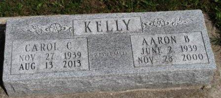 KELLY, AARON BRYCE - Des Moines County, Iowa   AARON BRYCE KELLY