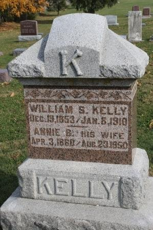 MCDONALD KELLY, ANNIE BELL - Des Moines County, Iowa | ANNIE BELL MCDONALD KELLY