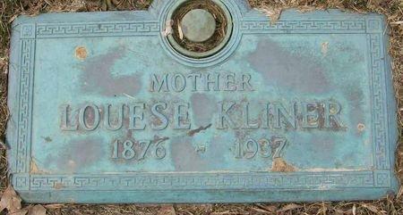 KLINER, LOUESE - Des Moines County, Iowa | LOUESE KLINER