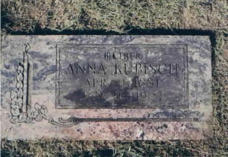 KUBISCH, ANNA - Des Moines County, Iowa | ANNA KUBISCH