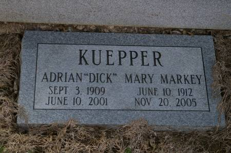 KUEPPER, MARY - Des Moines County, Iowa   MARY KUEPPER