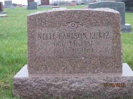 CARLSON KURTZ, NELLE - Des Moines County, Iowa   NELLE CARLSON KURTZ