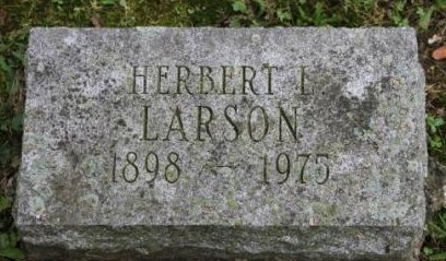 LARSON, HERBERT LAURENCE - Des Moines County, Iowa | HERBERT LAURENCE LARSON