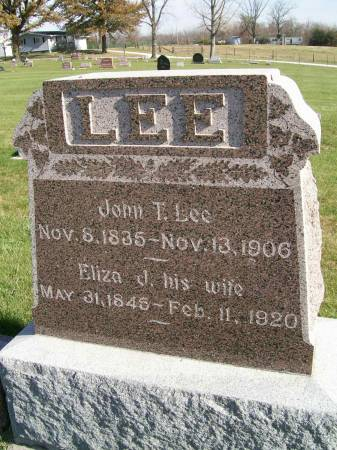 SIMPSON LEE, ELIZA J. - Des Moines County, Iowa | ELIZA J. SIMPSON LEE