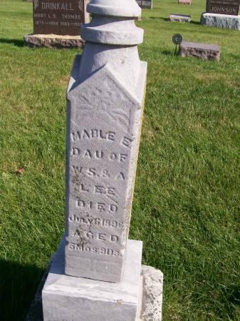 LEE, MABLE E. - Des Moines County, Iowa | MABLE E. LEE