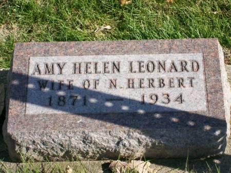 LEONARD, AMY HELEN - Des Moines County, Iowa | AMY HELEN LEONARD