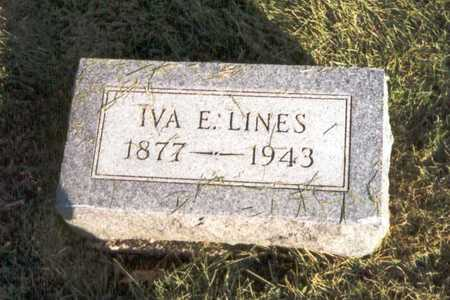 NYHART LINES, IVA E. - Des Moines County, Iowa | IVA E. NYHART LINES
