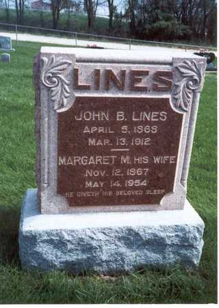LINES, MARGARET MAY - Des Moines County, Iowa | MARGARET MAY LINES