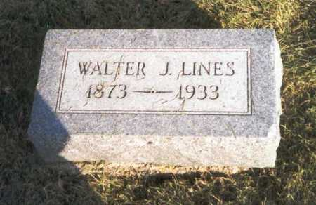 LINES, WALTER J. - Des Moines County, Iowa | WALTER J. LINES